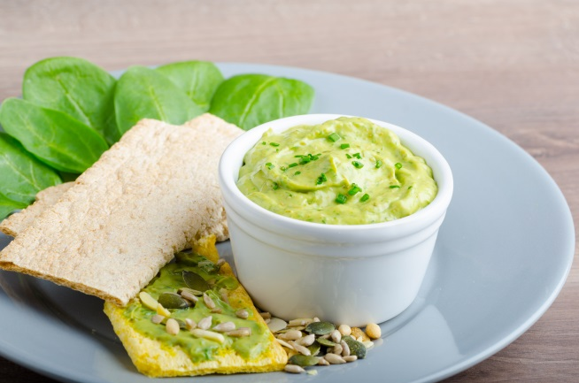 avocado and spinach dip